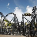'The Smiler' - the new GBP18 million roller coaster due to open at Alton Towers.   See NTI story NTISMILER.  These are the hilarious facial expressions of the first thrill-seekers to try out Britain's newest roller-coaster - which includes a record breaking FOURTEEN LOOPS.   The stomach-churning ride - called 'The Smiler' - hits speeds of up to 53mph and will open to the public at Alton Towers on May 23.  But technicians at the theme park were given a sneak preview on Monday (13) and became the first to test the 18 million mega ride.  Using a video camera attached to a helmet, designers used  facial recognition technology to identify what emotions the rider goes through whilst on the coaster.  The footage has then been run through a complex set of algorithms which track subtle changes in muscle group activation on the rider's face. The final video features the rider's face overlaid with a graphical representation showing fluctuations in the mixture emotions they were experiencing at different points on the ride.