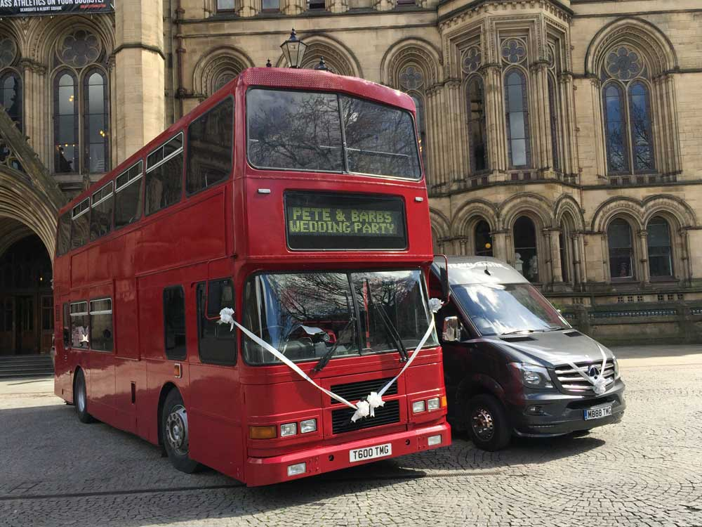 Wedding Hire Travel Master Manchester